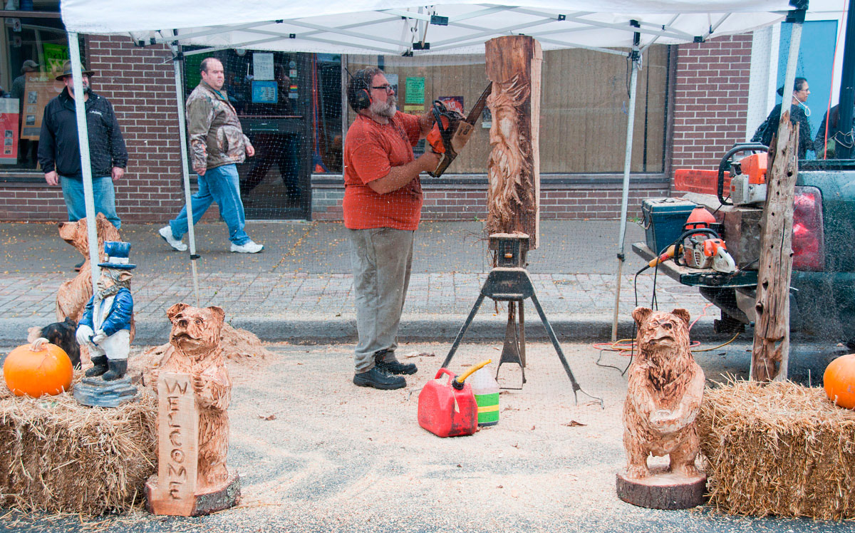 Harvest Festival 2017 - Wood carver