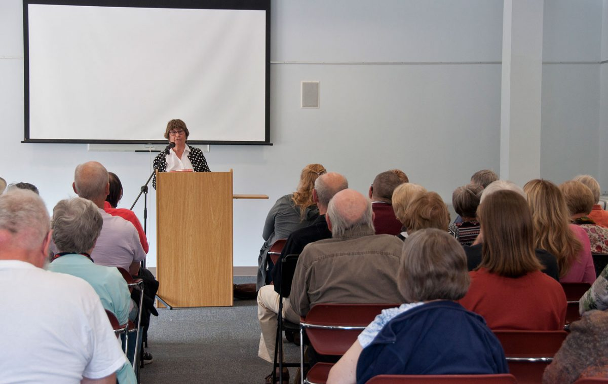 Maureen Jennings - speaking to Library audience