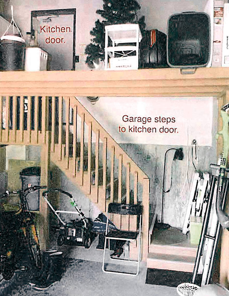 Kerr Street Townhouses - inside a Garage