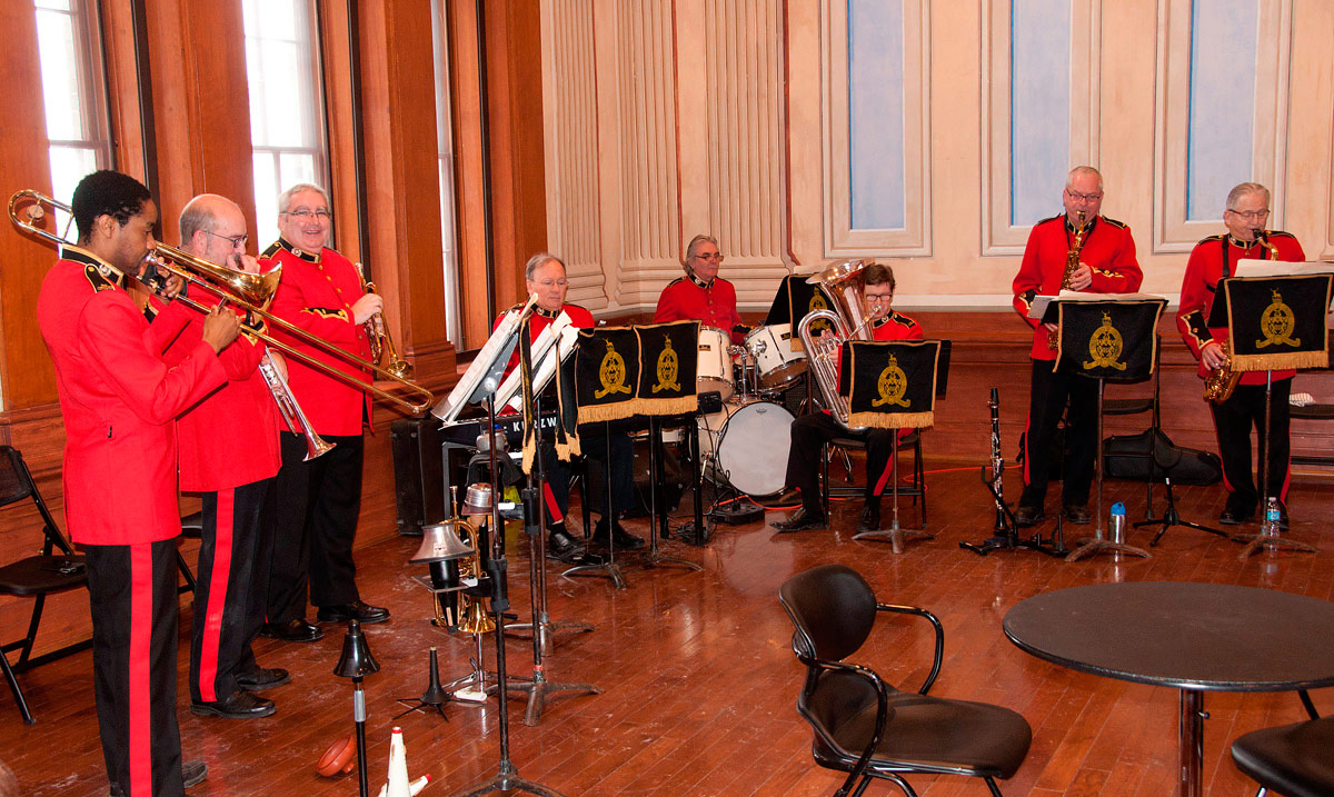 Concert Band of Cobourg providing Musical entertainment