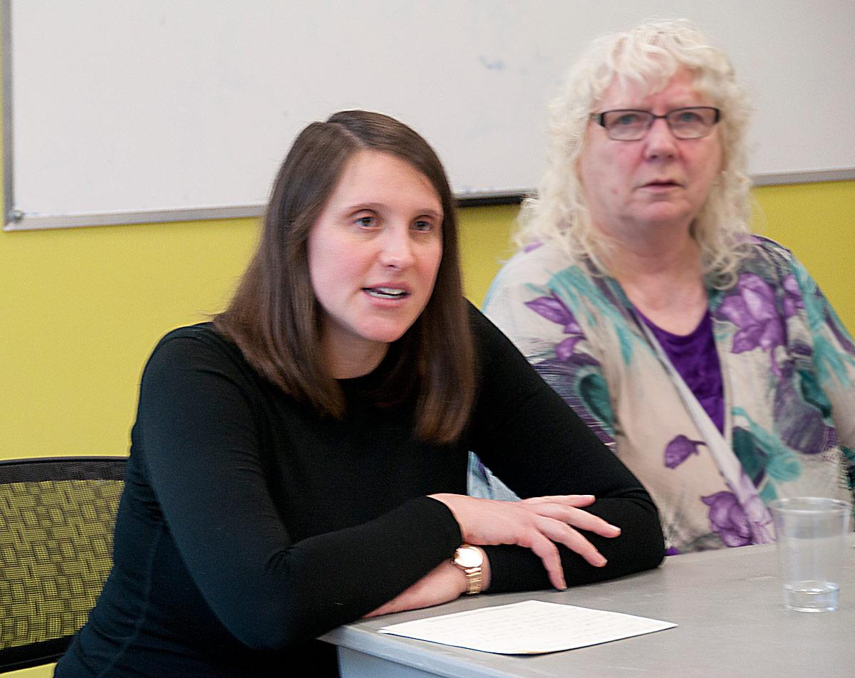 Jana Papuckoski - with EDA Vice Chair Linda Mackenzie-Nicholas