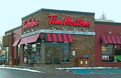 Tim Hortons on Division Street