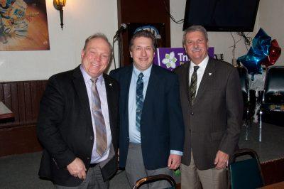 l-r: Bob Yaciuk; Derek Sharp; Jack MacLaren