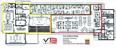 Venture 13 - Ground floor plan
