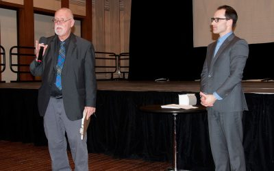 Rob Washburn and Tony Grace