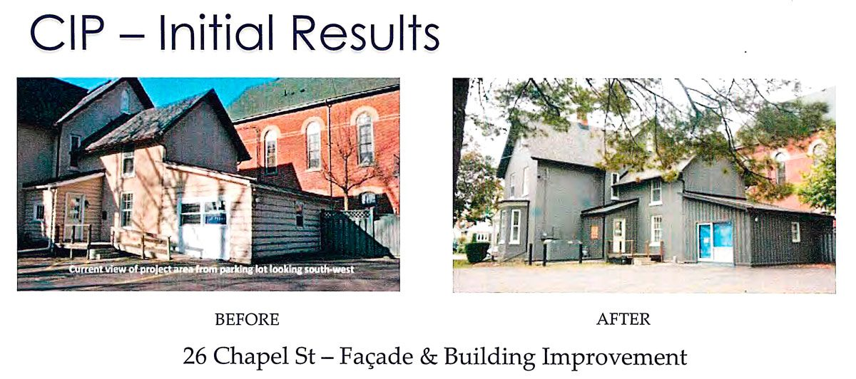 Improvements at Eagle.ca Office - partly funded by CIP
