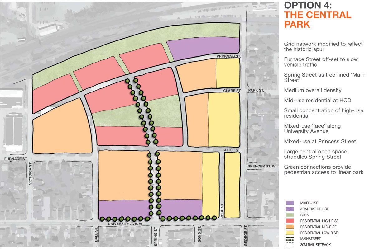 Tannery District - Option 4