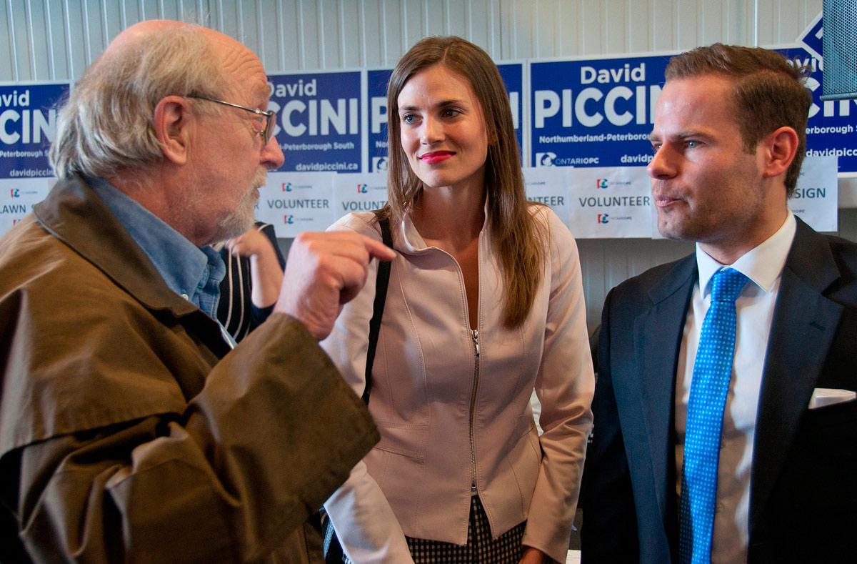 David Piccini answering questions