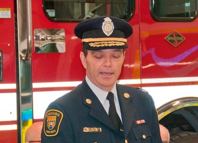 Fire Chief Mike Vilneff