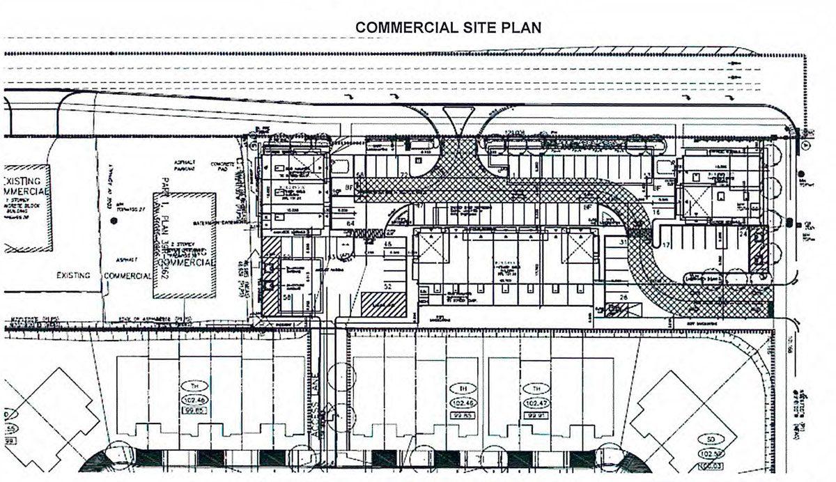 West Park Enclave - Commercial Plan