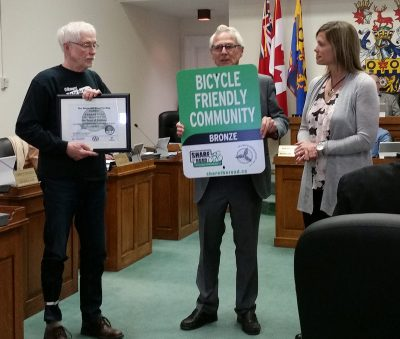 Bicycle Friendly Community Award