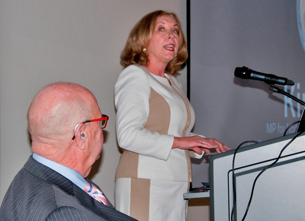 Venture 13 Grand Opening - MP Kim Rudd