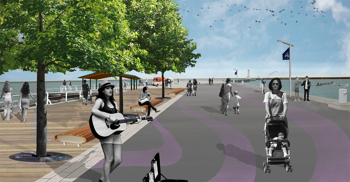 East Pier - Proposed