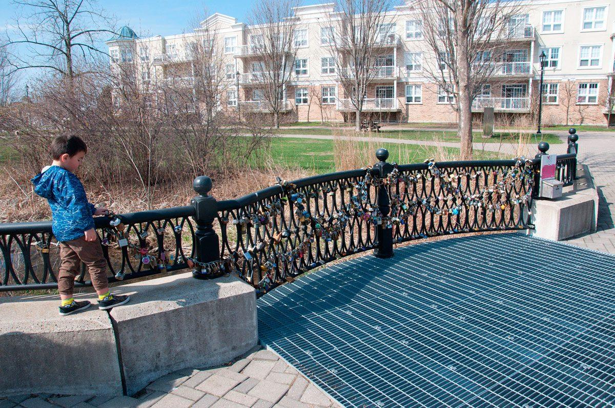 Cobourg's Love Locks