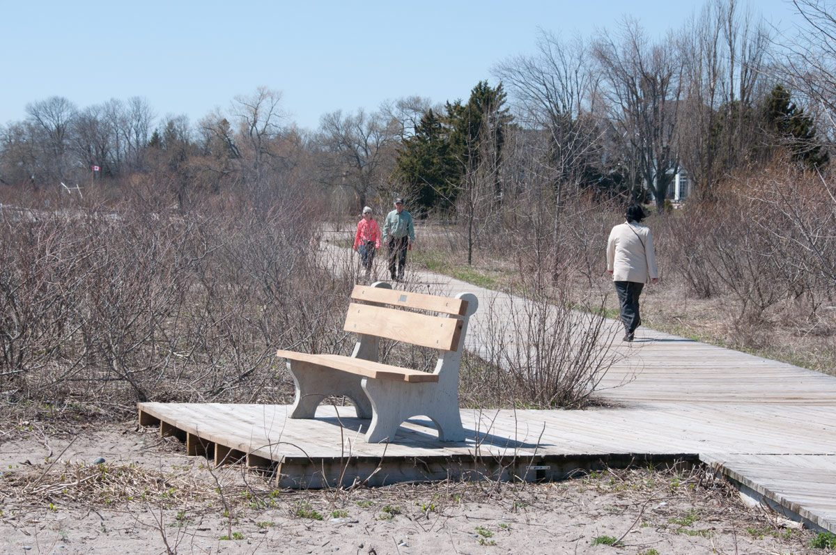 West Beach  - good sturdy benches