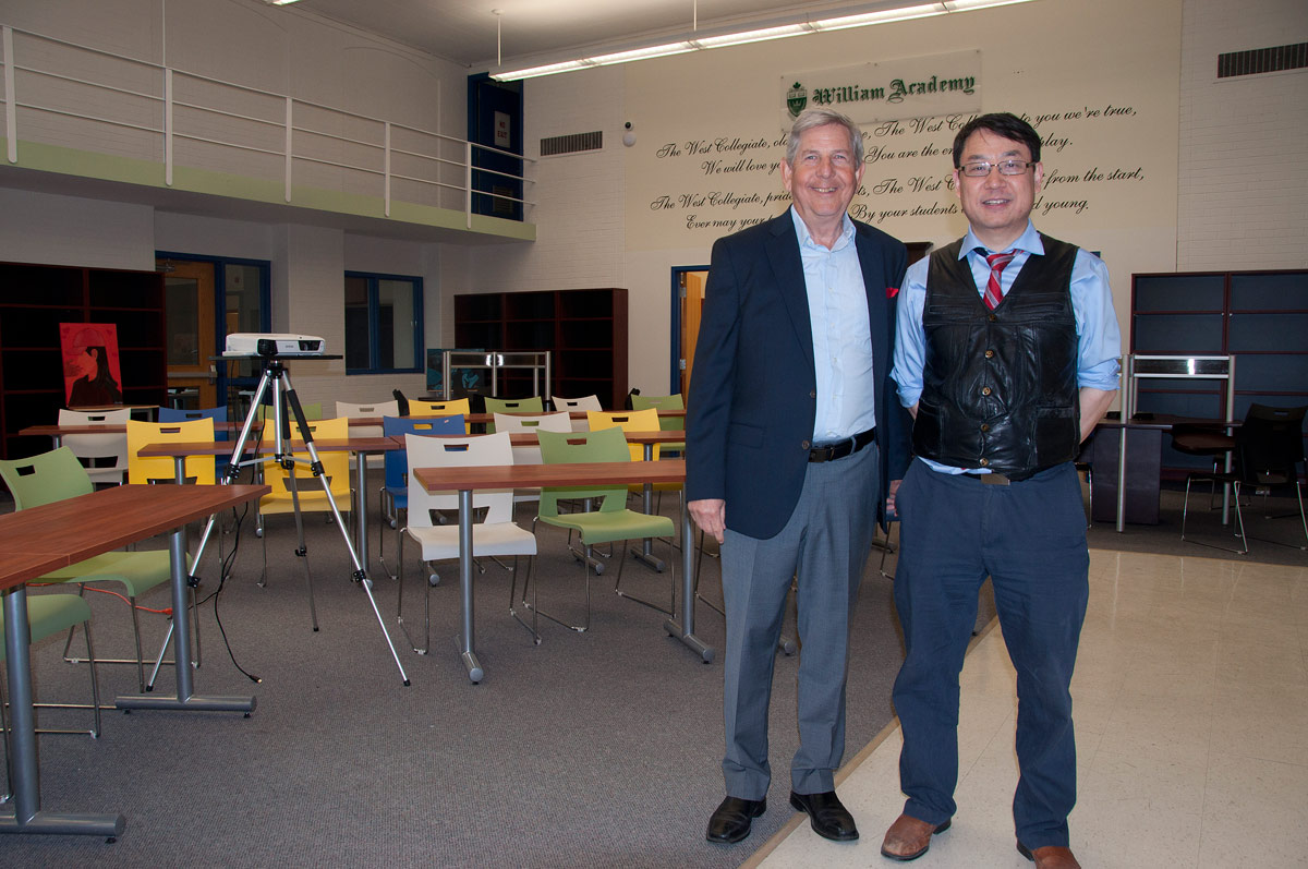 William Academy: Director Louis Sacco and Owner Jeff Weng