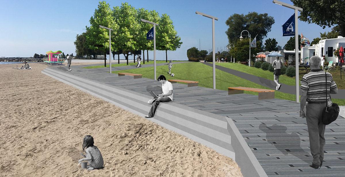 Trailer Park Beach interface