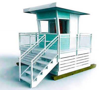 Planned Lifeguard station