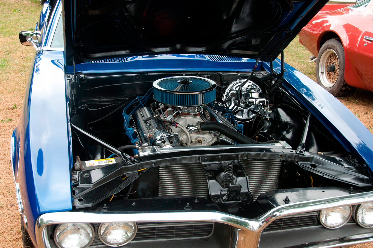 Firebirds - some of the cars  were immaculate under the hood.
