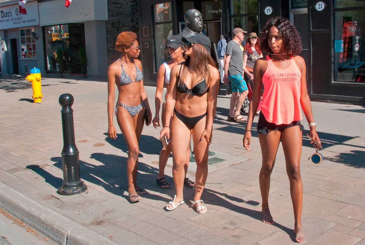 Who said Beach goers don't come Downtown?