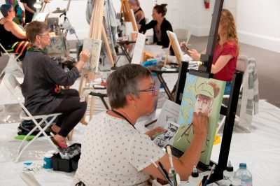Art Walk Competition at the AGN - 25 Aug 2018