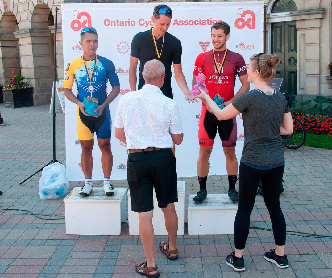 Criterium Cobourg - Winners - first race, first category
