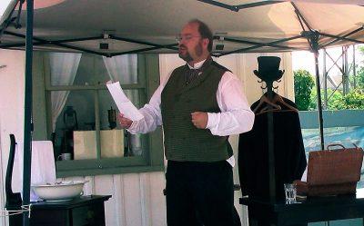 Rob Franklin as James Cockburn