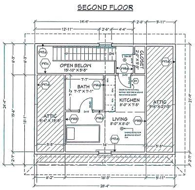 513 George Street - floor plan