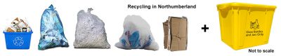 Northumberland recycling