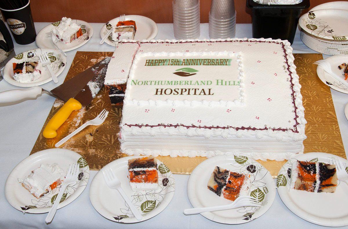 NHH Open House -15th Anniversary Cake