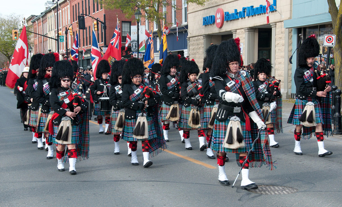 Remembrance Day - Pipes and Drums