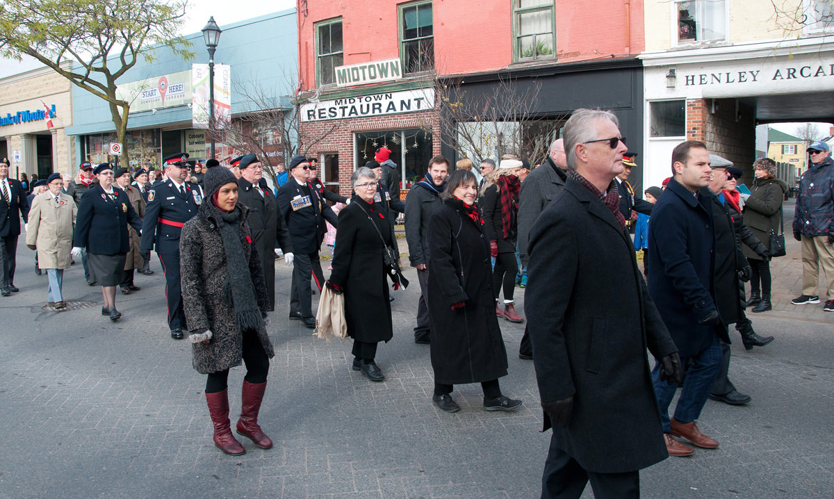 Remembrance Day - Marchers