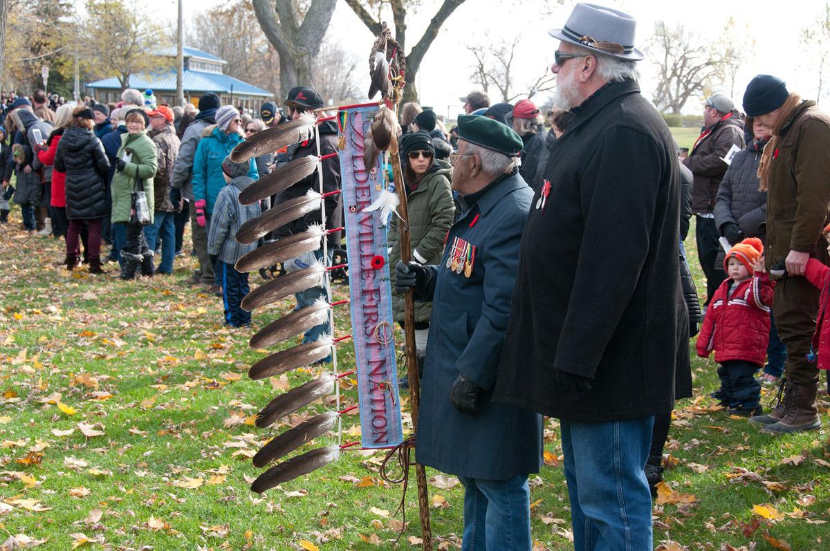 Alderville First Nation participant