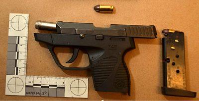 Homicide gun