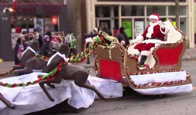 Santa Parade 2018