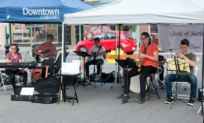 Entertainment at 2018 Art Walk