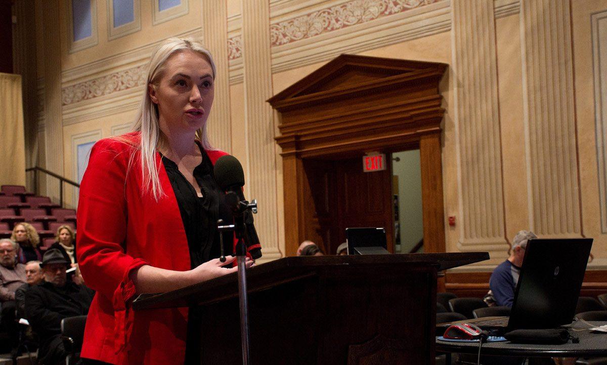 Ashley Purdy - explaining Public Engagement details