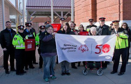 Special Olympics - Flag-raising