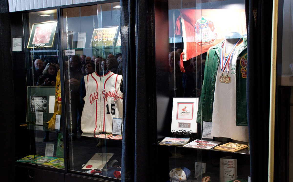 Sports Hall of Fame - some of memorabilia