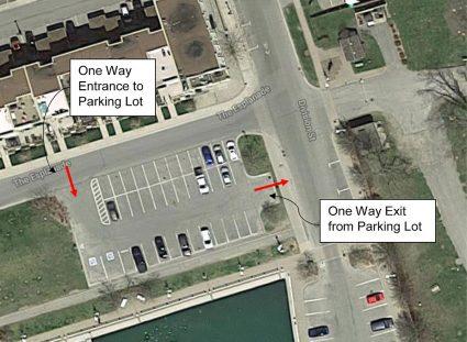 Esplanade parking