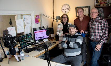 MP Kim Rudd at Northumberland FM 89.7