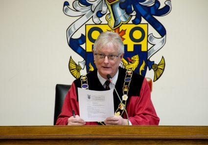 Mayor- John Henderson