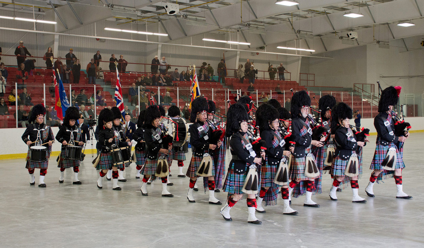 Cobourg Legion Pipes Drums