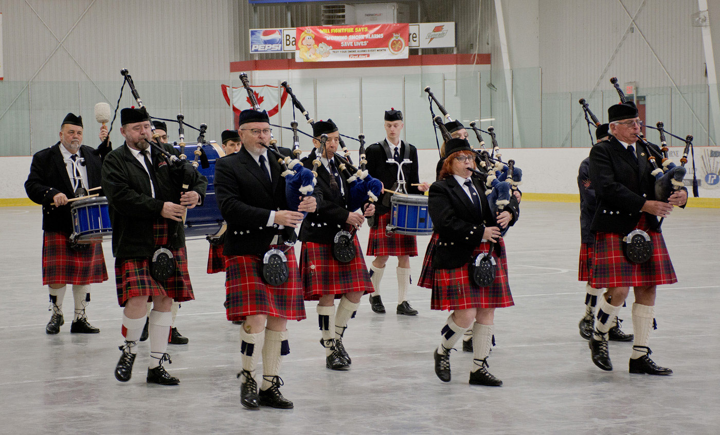 Port Hope Legion Pipes Drums