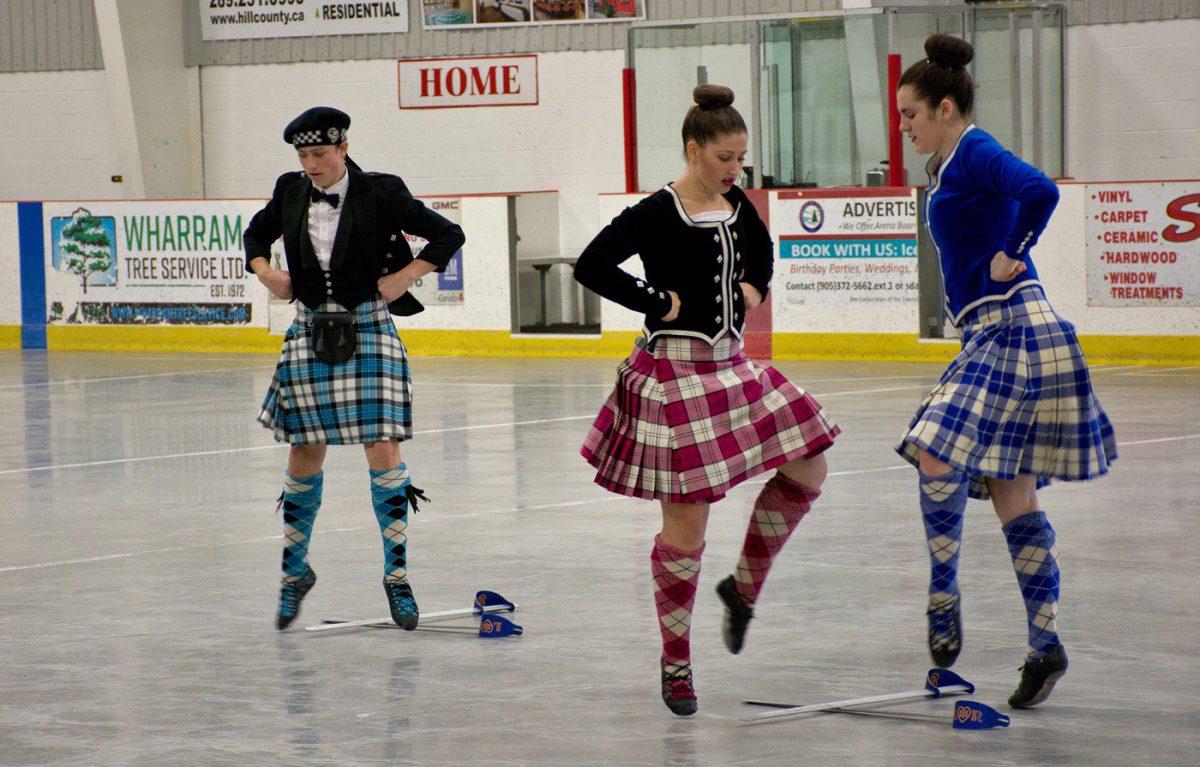 Highland Dancers at Tattoo