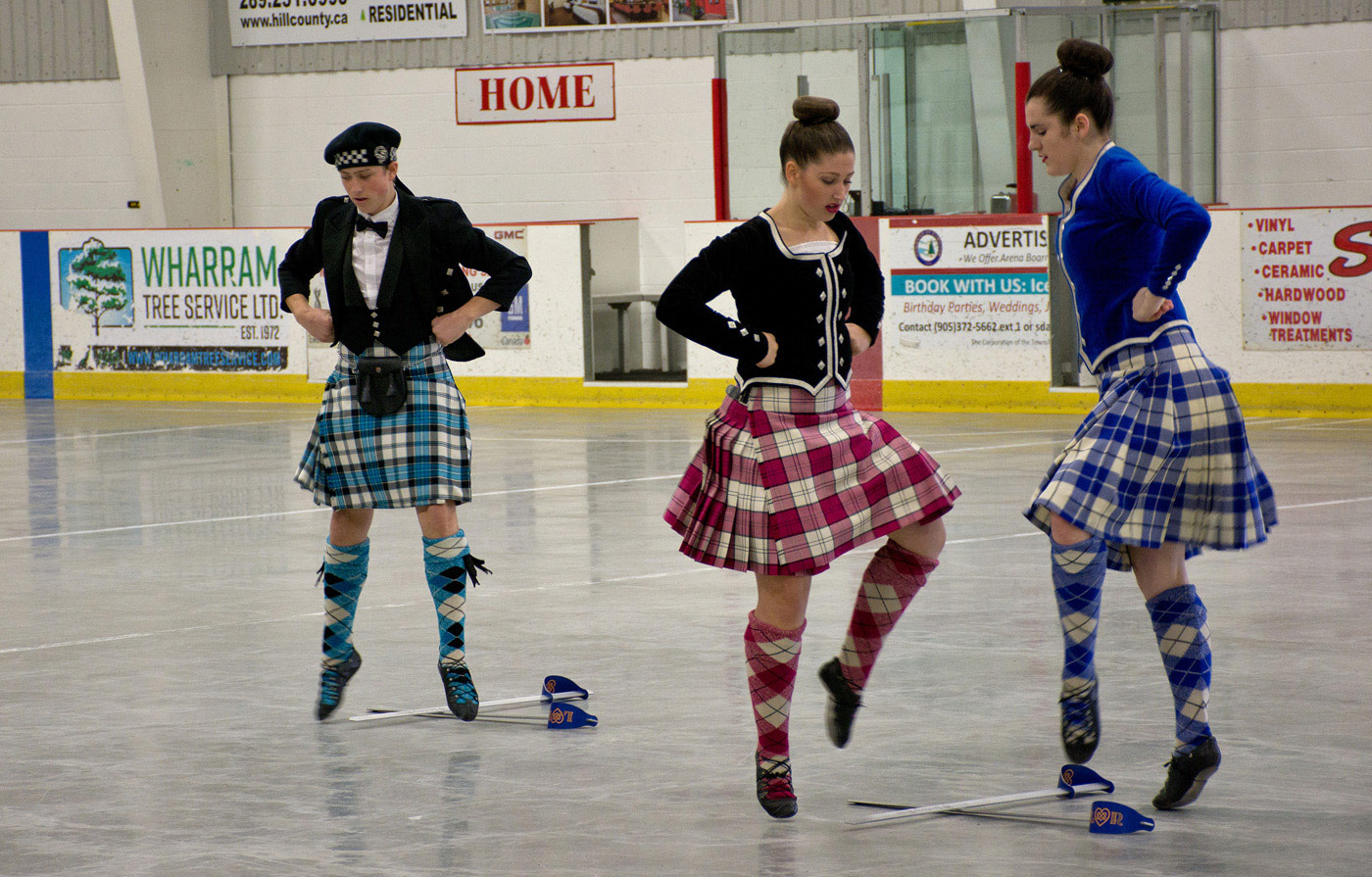 Highland Dancers at Tattoo