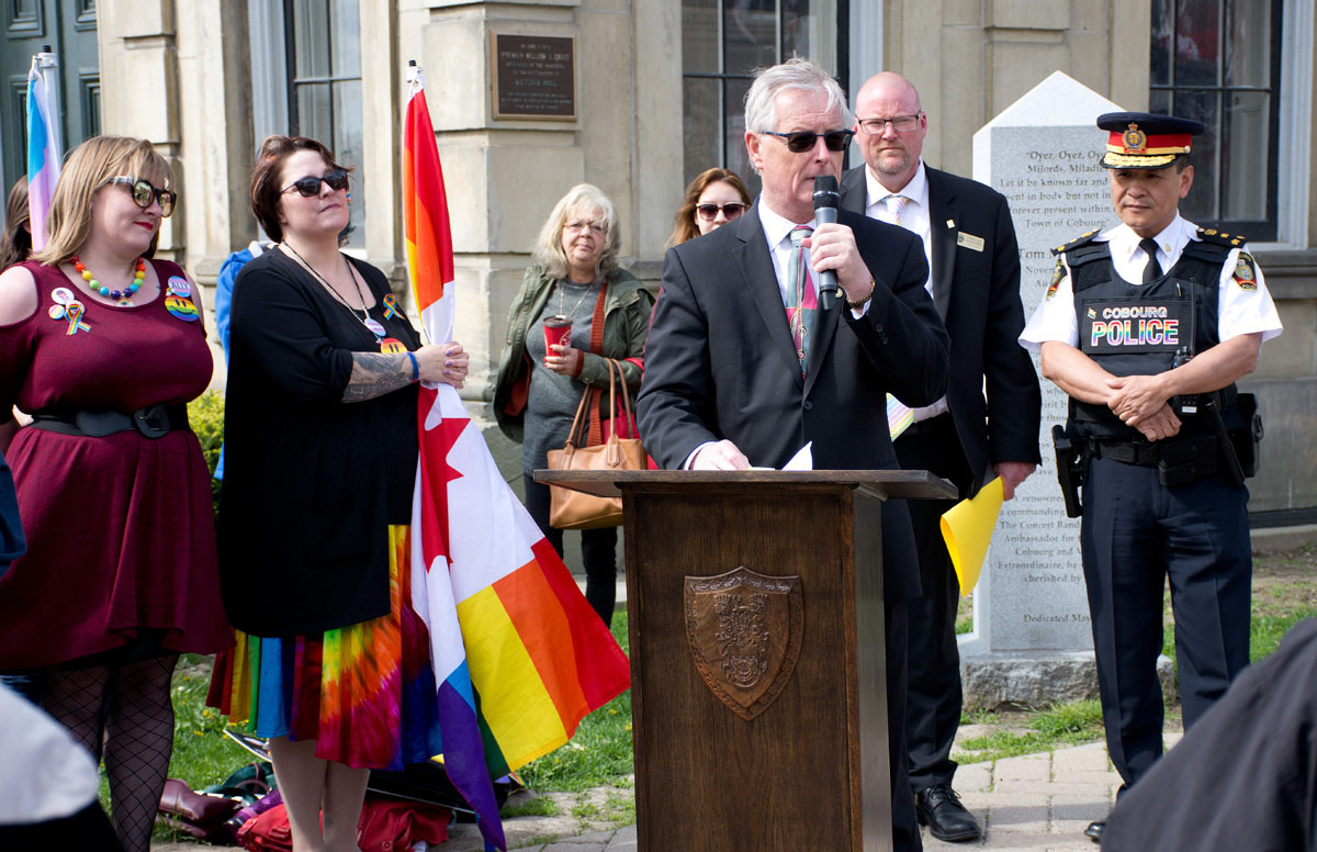 Gay Pride Event - Mayor John Henderson