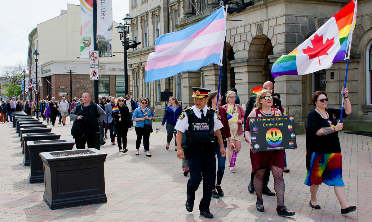 Gay Pride Event - March to Police Station