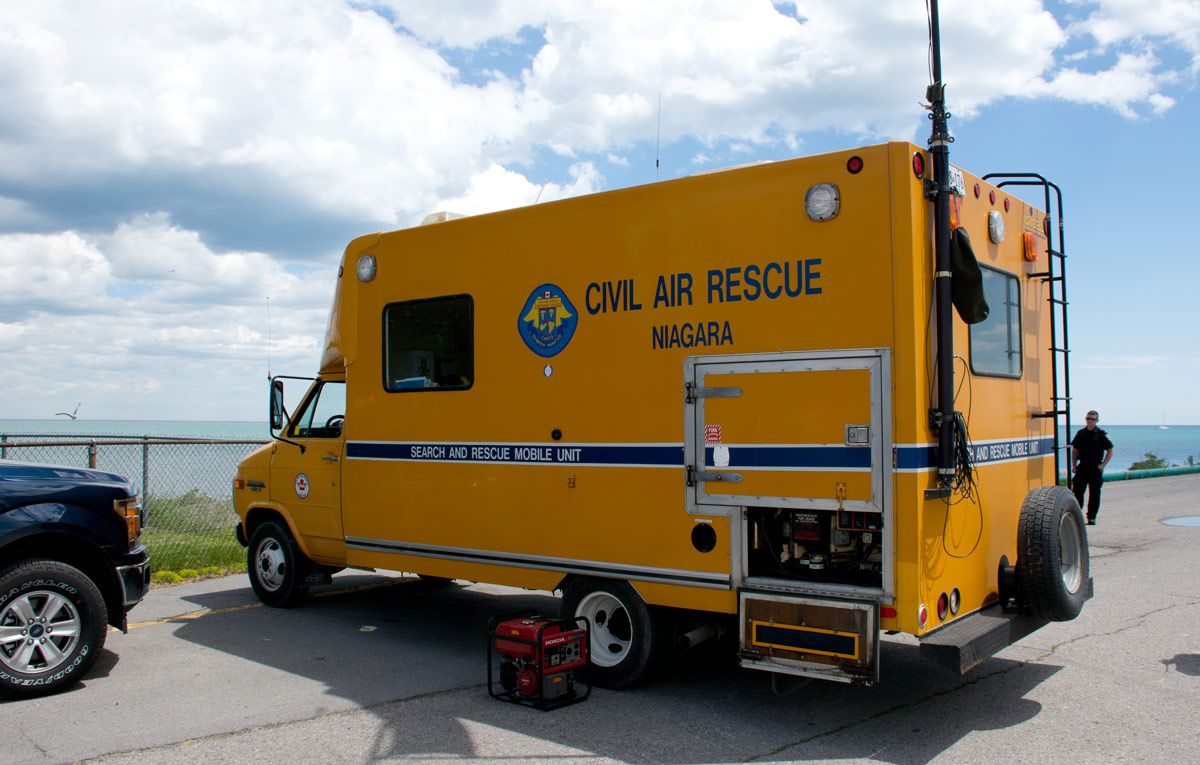 Civil Air Rescue Mobile Unit from Niagara