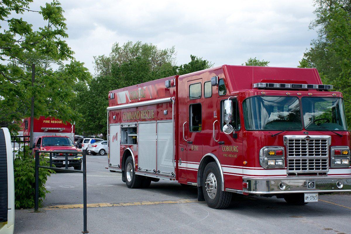 Cobourg Fire Command Rescue Truck